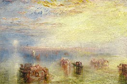 Approach to Venice, 1844 by J. M. W. Turner | Painting Reproduction