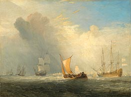Rotterdam Ferry-Boat, 1833 by J. M. W. Turner | Painting Reproduction