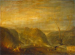 The Rape of Proserpine, 1839 by J. M. W. Turner | Painting Reproduction