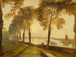 Mortlake Terrace, 1827 by J. M. W. Turner | Painting Reproduction