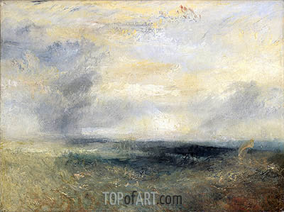 Margate from the Sea, c.1835/40 | J. M. W. Turner | Painting Reproduction