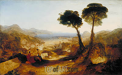 The Bay of Baiae, with Apollo and the Sibyl, 1823 | J. M. W. Turner | Painting Reproduction