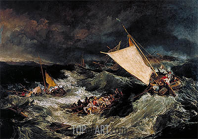 The Shipwreck, 1805 | J. M. W. Turner | Painting Reproduction