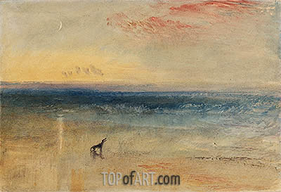 Dawn after the Wreck, c.1841 | J. M. W. Turner | Painting Reproduction