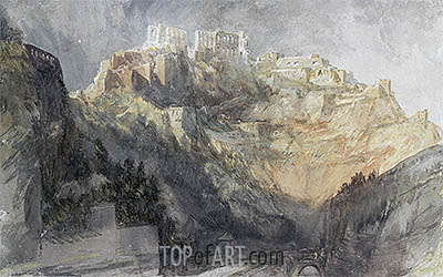 Ehrenbreitstein, 1817 | J. M. W. Turner | Painting Reproduction