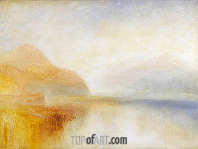 Inverary Pier, Loch Fyne: Morning, undated | J. M. W. Turner | Painting Reproduction