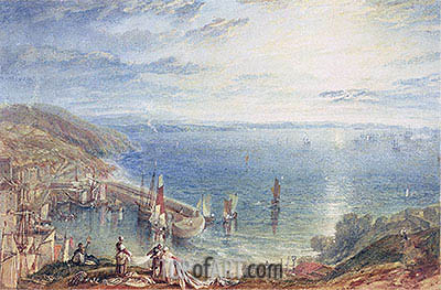 Torbay from Brixham, c.1816/17 | J. M. W. Turner | Painting Reproduction
