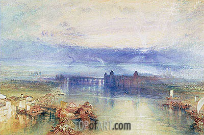 Lake Constance, undated | J. M. W. Turner | Painting Reproduction