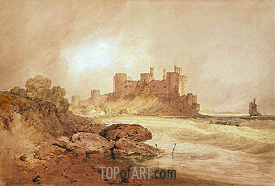 Conway Castle, North Wales, c.1800 | J. M. W. Turner | Painting Reproduction