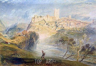 Richmond, Yorkshire, undated | J. M. W. Turner | Painting Reproduction
