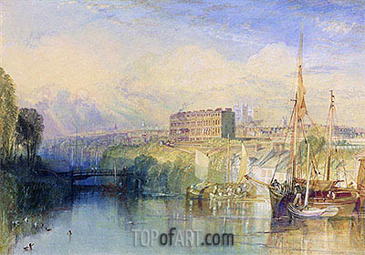 Exeter, c.1827 | J. M. W. Turner | Painting Reproduction
