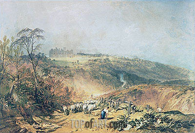 Eridge Castle, East Sussex, undated | J. M. W. Turner | Painting Reproduction