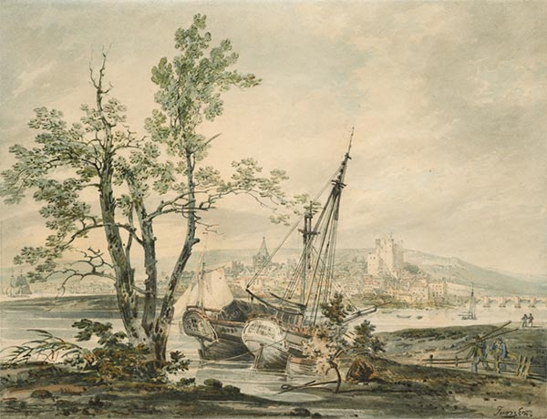 Rochester, c.1793 | J. M. W. Turner | Painting Reproduction