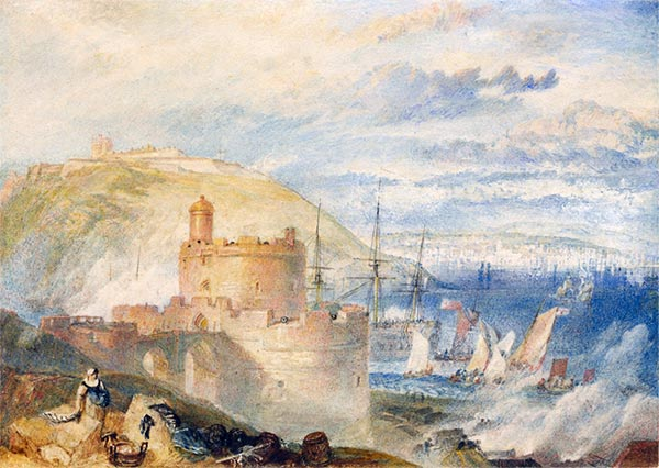 Falmouth Harbor, c.1825 | J. M. W. Turner | Painting Reproduction