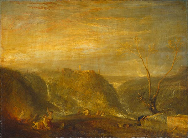 The Rape of Proserpine, 1839   J. M. W. Turner   Painting Reproduction