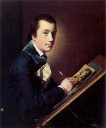 Portrait of Samuel Rastall | Wright of Derby | Painting Reproduction