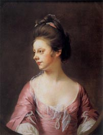 Portrait of Mrs Catherine Swindell, c.1769/71 von Wright of Derby | Gemälde-Reproduktion