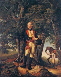 Portrait of Captain Robert Shore Milnes, 1772 by Wright of Derby | Painting Reproduction
