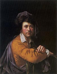 Self Portrait at the Age of about Forty, c.1772/73 von Wright of Derby | Gemälde-Reproduktion