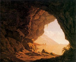 A Cavern Morning, 1774 von Wright of Derby | Gemälde-Reproduktion