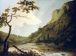 Matlock Tor by Daylight | Wright of Derby | Gemälde Reproduktion