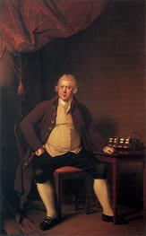 Portrait of Sir Richard Arkwright, c.1789/90 by Wright of Derby | Painting Reproduction