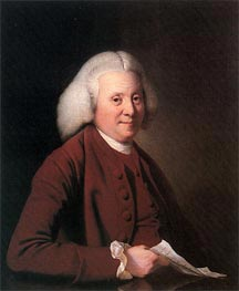 Portrait of Samuel Crompton, c.1780 by Wright of Derby | Painting Reproduction