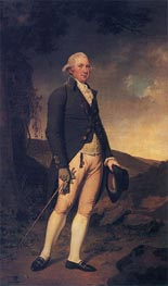 Portrait of Charles Hurt of Wirksworth, c.1789/90 by Wright of Derby | Painting Reproduction