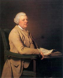 Portrait of Richard Cheslyn, c.1777 by Wright of Derby | Painting Reproduction
