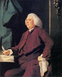 Portrait of Christopher Heath, c.1781 by Wright of Derby | Painting Reproduction