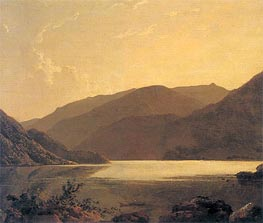 Ullswater, c.1795 by Wright of Derby | Painting Reproduction