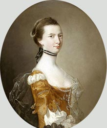 Portrait of a Lady, undated by Wright of Derby | Painting Reproduction