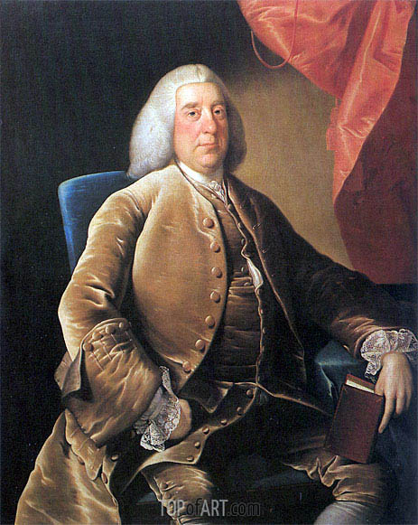 Portrait of William Brooke, 1760 | Wright of Derby | Painting Reproduction