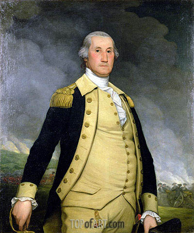 George Washington, Undated | Wright of Derby | Painting Reproduction