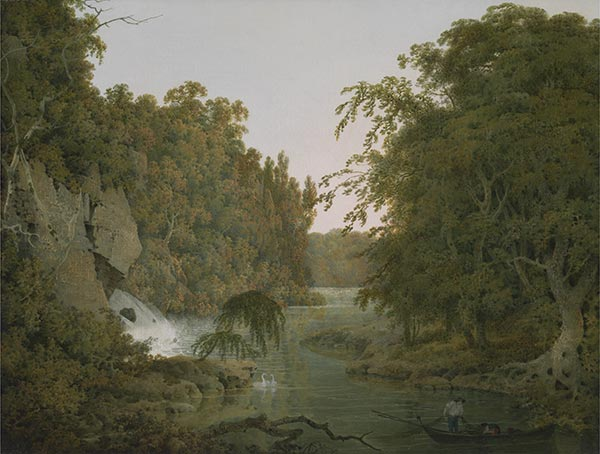 Dovedale, 1786 | Wright of Derby | Painting Reproduction