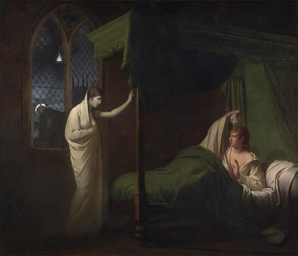 William and Margaret from Percy's Reliques of Ancient English Poetry, c.1785 | Wright of Derby | Painting Reproduction