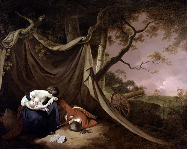 The Dead Soldier, c.1789 | Wright of Derby | Painting Reproduction