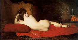 Odalisque, 1874 by Jules Joseph Lefebvre | Painting Reproduction