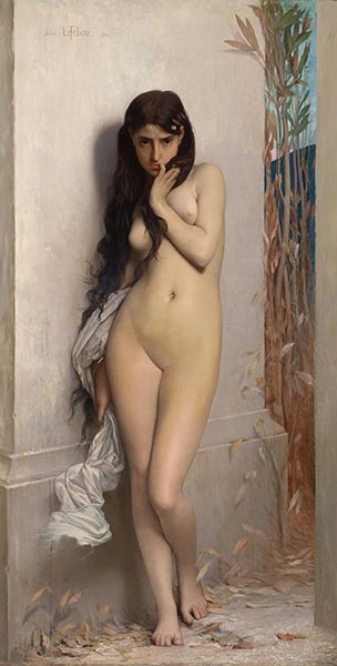The Grasshopper, 1872 | Jules Joseph Lefebvre | Painting Reproduction