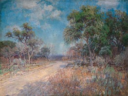 Road to the Hills, 1918 by Julian Onderdonk | Painting Reproduction