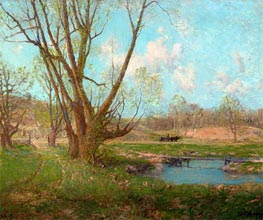Coming Rain, undated by Julian Onderdonk | Painting Reproduction