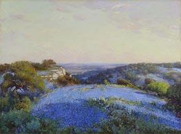 Near San Antonio, c.1918 by Julian Onderdonk | Painting Reproduction