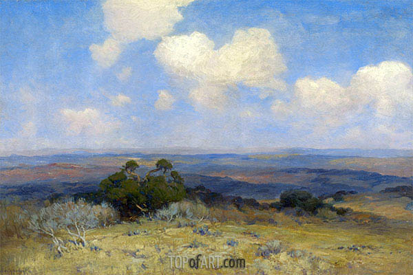 Sunlight and Shadow, 1910   Julian Onderdonk   Painting Reproduction