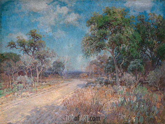 Road to the Hills, 1918 | Julian Onderdonk | Painting Reproduction