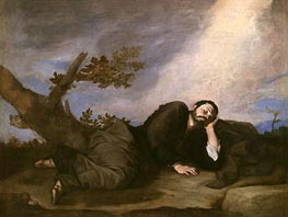 Jacob's Dream, 1639 by Jusepe de Ribera | Painting Reproduction