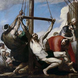 The Martyrdom of Saint Philip, 1639 by Jusepe de Ribera | Painting Reproduction