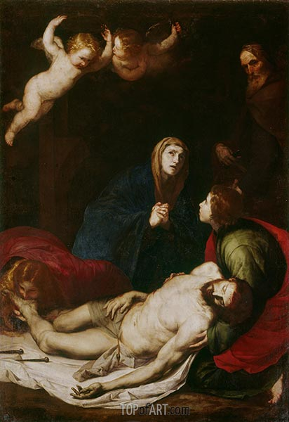 Descent from the Cross, 1637 | Jusepe de Ribera | Painting Reproduction