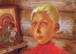 Vasya, c.1922 by Kuzma Petrov-Vodkin | Painting Reproduction