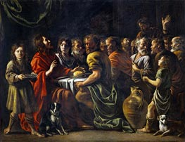 Last Supper, c.1620/48 by Le Nain Brothers | Painting Reproduction
