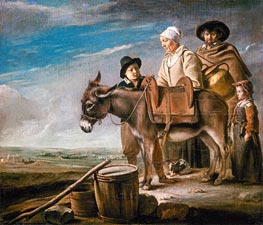 Milkmaid's Family, c.1641 by Le Nain Brothers | Painting Reproduction